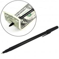 Фокус Ручка сквозь купюру