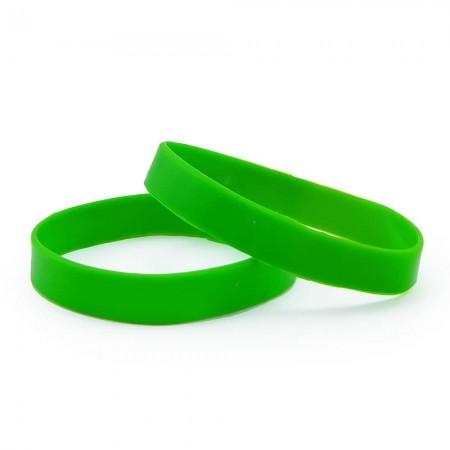 Браслет силиконовый (зеленый) оптом