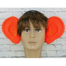 Аксессуар на ободке Уши локаторы (оранжевые)