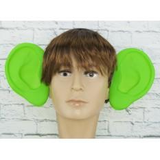 Аксессуар на ободке Уши локаторы (зеленые)