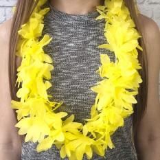 Гавайские леи Гибискус (желтые)