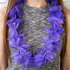 Гавайские леи Орхидеи (фиолетовые)