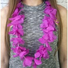 Гавайские леи Орхидеи (сиреневые)