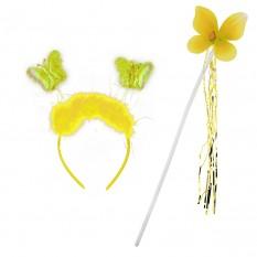 Набор бабочки Феи (желтый)