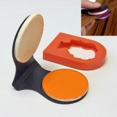 Мелок цветной пудра для волос Hair Chalk (оранжевый)