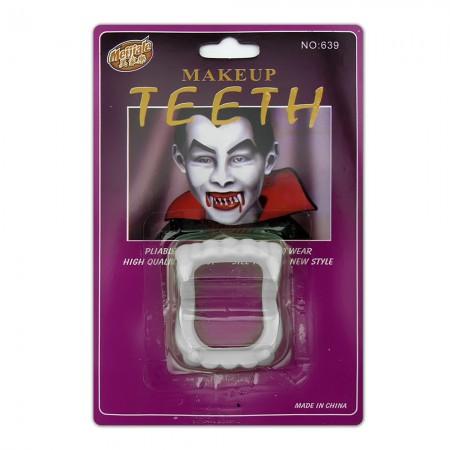 Зубы Вампира светонакопительные на блистере оптом