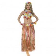 Карнавальный костюм Гавайский (радуга)