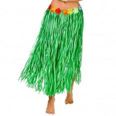 Гавайская юбка (75см) зеленая