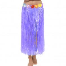 Гавайская юбка (75см) фиолетовая
