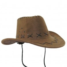 Шляпа детская Ковбой (бежевая)