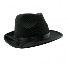 Шляпа мужская Мафия (черная)