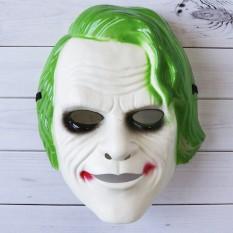 Маска детская Джокер (зеленая)
