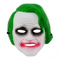 Маска пластик Джокер (зеленый)