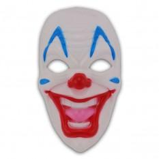 Маска пластик Злой Клоун
