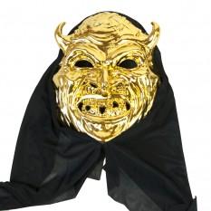 Маска с капюшоном Дьявол (золото)