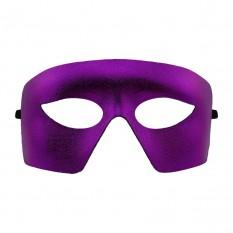 Венецианская маска Мистер Х (фиолетовая)