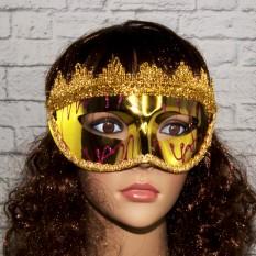 Венецианская маска Вероника (золото)