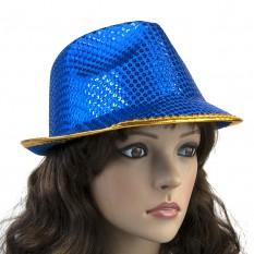 Шляпа Диско Твист (синяя)