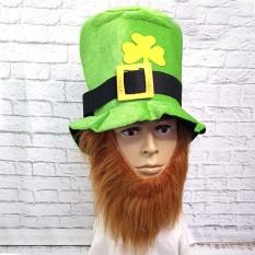 Шляпа Лепрекона с коричневой бородой