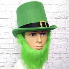 Шляпа Лепрекона с зеленой бородой