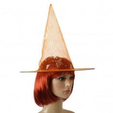 Шляпа Колпак капроновая (оранжевая)