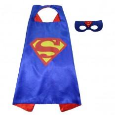Маскарадный плащ с маской Супермен