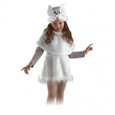 Маскарадный костюм меховой Кошка (размер L)