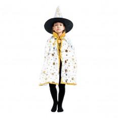 Маскарадный костюм Волшебник (белый)