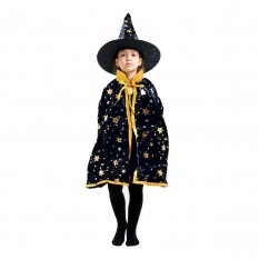 Маскарадный костюм Волшебник (черный)