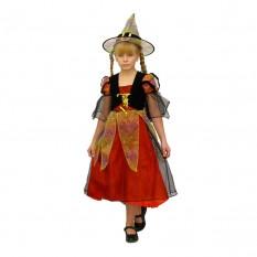 Маскарадный костюм Злая Ведьма (размер M) красный