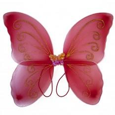 Крылья Бабочки средние (красные) 40х40см