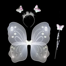 Набор Бабочки 45х35см (белый)