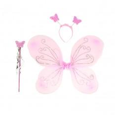 Набор Бабочки 45х35см (розовый)
