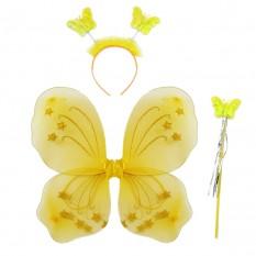 Набор Бабочки 45х35см (желтый)