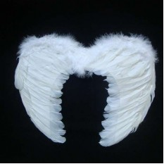 Крылья Ангела Маленькие 45х35см (белые)