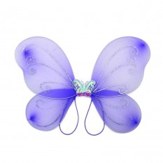 Крылья Бабочки средние (сиреневые) 40х40см