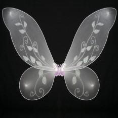 Крылья Бабочки средние (белые) 40х40см