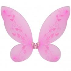 Крылья Бабочки средние (розовые) 40х40см