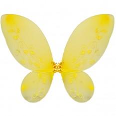 Крылья Бабочки средние (желтые) 40х40см