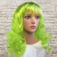 Парик Волнистый (зеленый)