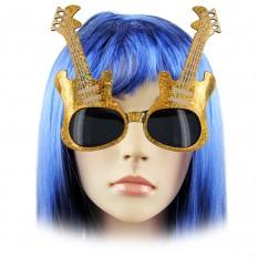 Очки Гитара (золотые и серебряные)