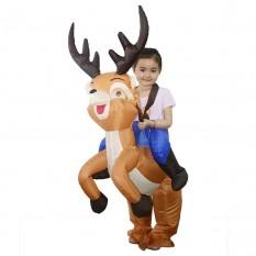 Надувной костюм детский Всадник на Олене