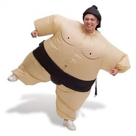 Надувной костюм Сумо