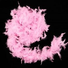 Боа из перьев 40г (розовое)
