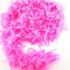 Боа из перьев 80г (розовое)