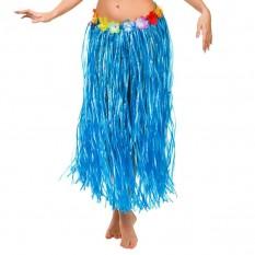 Гавайская юбка (75см) синяя