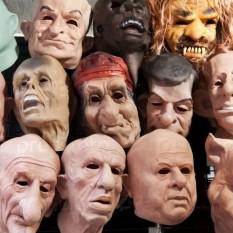 Карнавальные маски Резиновые и Латексные