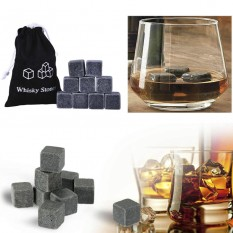 Камни для виски Whisky Stones (серые)