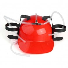 Шлем для пива (красный)