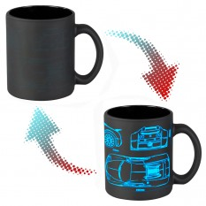 Чашка-хамелеон 66052 ЧРЖ Bugatti neon (черная)